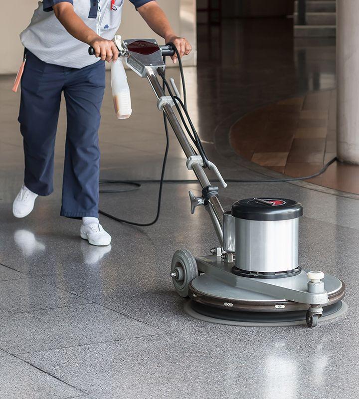 Perscon Cleaning Floor